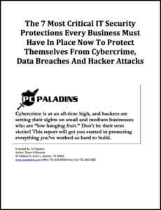 IT Services & Support for Jackson, TN | PC Paladins